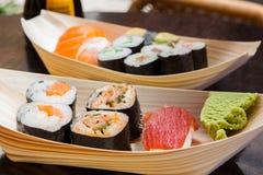 Sushi freschi Fotografia Stock