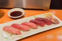 Sushi freschi Immagini Stock