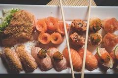 Sushi fresco fotografia de stock