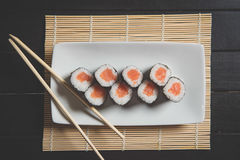 Sushi fresco Fotografia de Stock Royalty Free