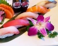 Sushi fresco Foto de Stock
