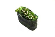 Sushi fresco en el fondo blanco Imagen de archivo