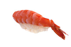 Sushi fresco en el fondo blanco Fotos de archivo libres de regalías