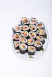 Sushi fresh maki rolls Royalty Free Stock Images