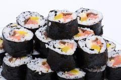 Sushi fresh maki rolls Royalty Free Stock Photography