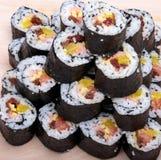 Sushi fresh maki rolls Stock Image