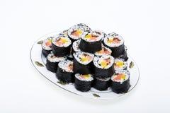 Sushi fresh maki rolls Royalty Free Stock Image