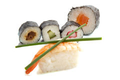 Sushi fun Stock Images