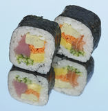 Sushi futo Maki Stock Photo