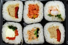 Sushi futomaki Royalty Free Stock Photos