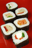 Sushi futomaki Stock Photography