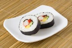 Sushi - Futomaki royalty-vrije stock foto