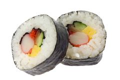 Sushi - Futomaki stock photography
