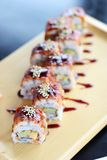 Sushi; giapponese Fotografie Stock
