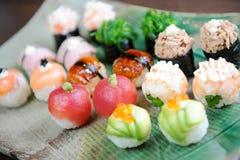 Sushi giapponesi Immagine Stock