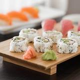 Sushi giapponesi Fotografia Stock Libera da Diritti