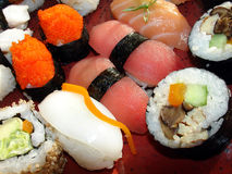 Sushi giapponesi 3 Fotografia Stock
