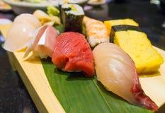 Sushi giapponesi Fotografie Stock