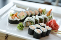 Sushi giapponesi Immagini Stock
