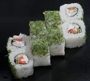 Sushi giapponesi bianchi Immagini Stock Libere da Diritti