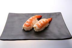 Sushi giapponesi con gambero Immagine Stock Libera da Diritti