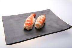 Sushi giapponesi con gambero Immagine Stock
