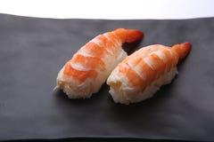Sushi giapponesi con gambero Immagini Stock