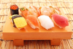 Sushi giapponesi di cucina Immagine Stock Libera da Diritti