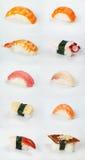 Sushi giapponesi tradizionali Immagine Stock