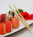 Sushi. good japanese food. Royalty Free Stock Image