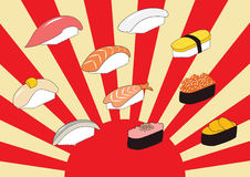 Sushi is good Royalty Free Stock Photography