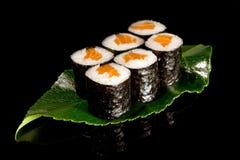 Sushi grande del maki Imagenes de archivo