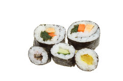 Sushi group Royalty Free Stock Photos