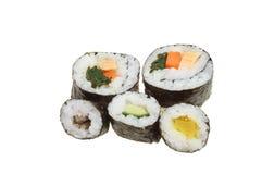 Sushi group Royalty Free Stock Photos