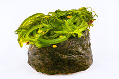Sushi Gunkan with chuka algae Royalty Free Stock Images