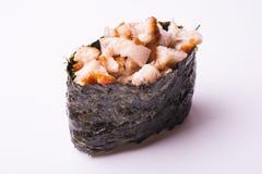 Sushi gunkan de la anguila Fotografía de archivo libre de regalías
