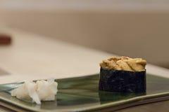 Sushi gunkan del discolo Fotografie Stock