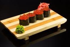 Sushi gunkan Stock Image