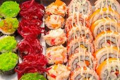 Sushi hermoso para la venta Fotos de archivo libres de regalías
