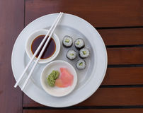 Sushi Hoso Maki Royalty Free Stock Photos
