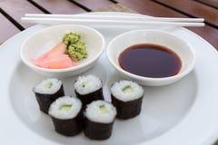 Sushi Hoso Maki Stock Images