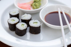 Sushi Hoso Maki Royalty Free Stock Images