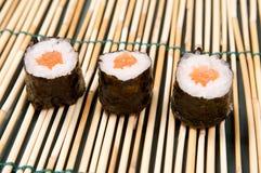 Sushi Hosomaki Imagen de archivo libre de regalías