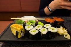 Sushi i Kumamoto Fotografering för Bildbyråer