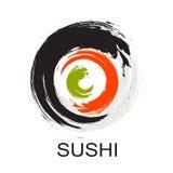Sushi Icon. Traditional Japanese Food. Vector Illustration Stock Photo