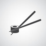Sushi Icon. Traditional Japanese Food. Vector Illustration Royalty Free Stock Photography