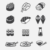 Sushi icon Royalty Free Stock Photography