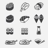Sushi icon Royalty Free Stock Photography