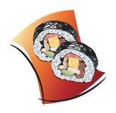 Sushi,  illustration Royalty Free Stock Images