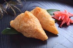 Sushi, Inarisushi Royalty-vrije Stock Afbeelding